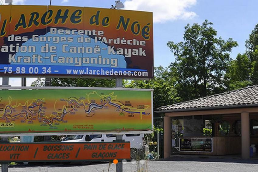 location canoë descente de l