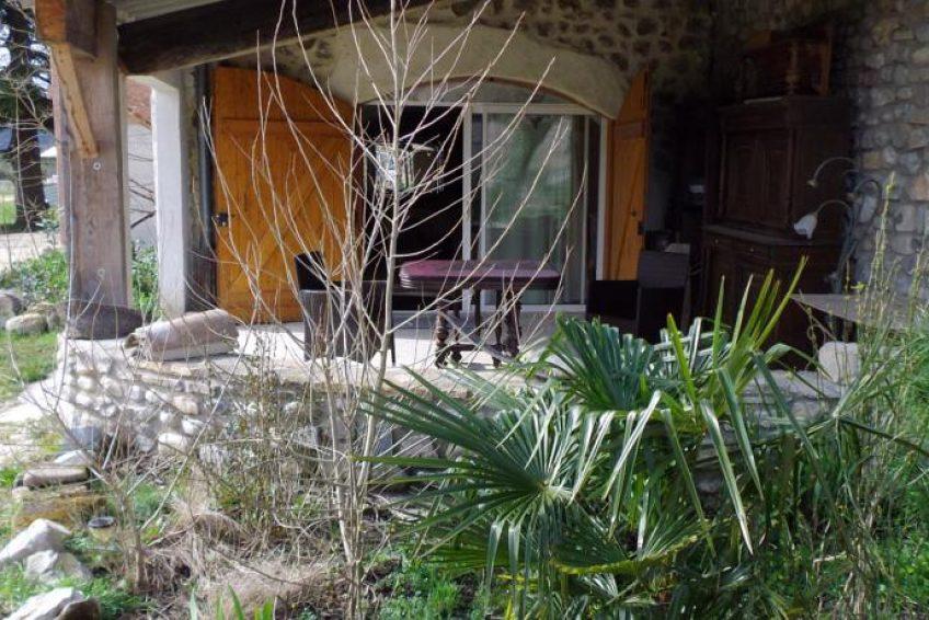 gite La Bergerie - Les Jardins de Prasserat annonceur sur Ardèchetours.com