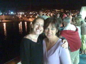 """Maryline et Lory vous accueillent pour votre séjour en Ardèche au gite """"L'Olivier Chez Mamé Marthe"""" à Vallon Pont d'Arc"""