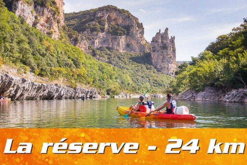 Descente Réserve Naturelle des Gorges de l