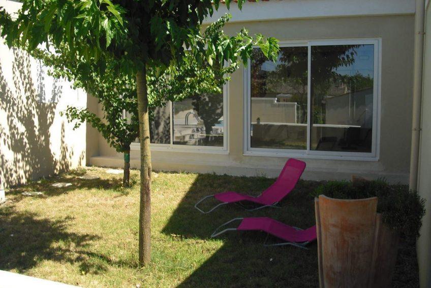 transats maison du coucouru - villa piscine à louer pour les vacances à Vallon Pont d