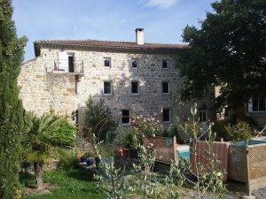 Location chambres d'hôtes Sud Ardèche Mas La Musardiere Les Assions