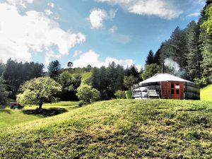 Le Mas du Pestrin - Yourte Ardèche