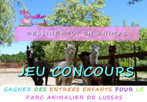 Concours de dessins enfants - Parc Animalier de Lussas