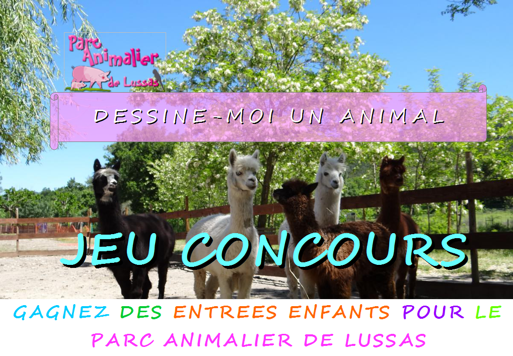 concours de dessins parc animalier de lussas ard. Black Bedroom Furniture Sets. Home Design Ideas