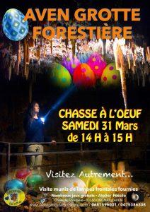 Chasse aux œufs à l'Aven Grotte La Forestière @ Aven Grotte La Forestière