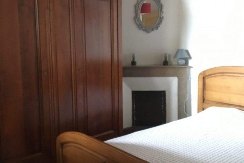 chambre double gite la maison de ma grand-mere à Sauveplantade Ardèche