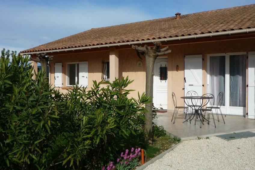 Location de vacances 3 chambres 6 personnes Villa La Dolce Vita Vallon Pont d
