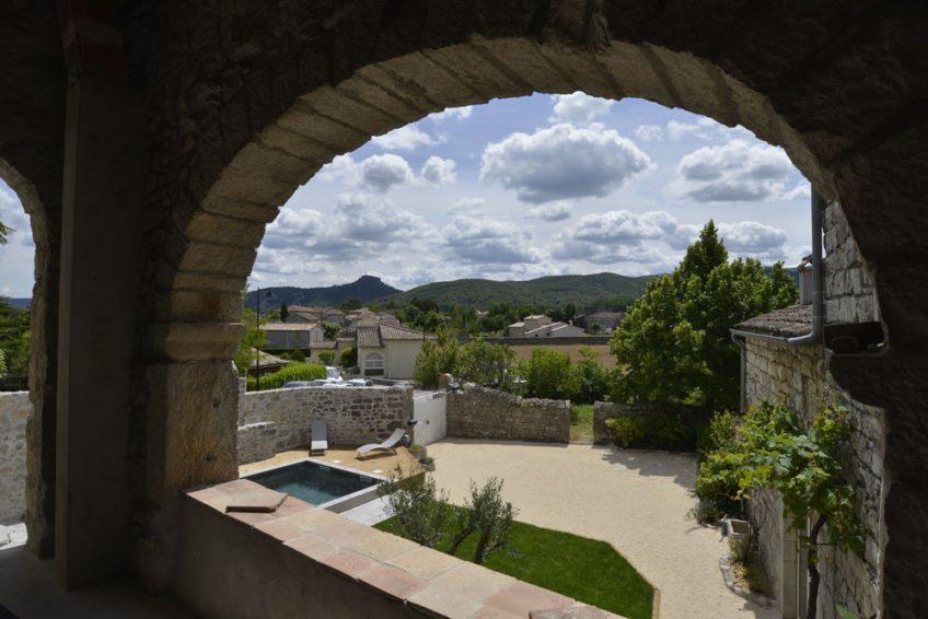 Mas Elise D Location vacances villa charme Batisse en pierre Saint Alban Auriolles sud Ardèche - Ardèchetours