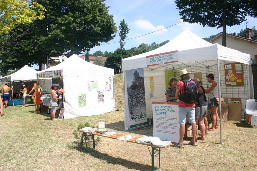 village citoyen crussol festival - yapluka des produits sains