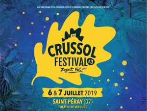 Crussol Festival 2019 programmation et billetterie