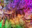 Grotte colorée La grotte de la Salamandre Ardèche