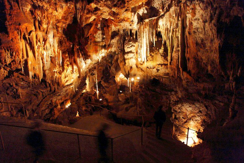 Aven Marzal grotte Ardèche