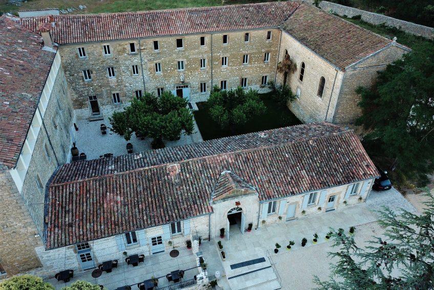 Hôtel de charme Ardèche avec piscine - Hôtel du couvent de Vagnas